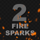 Flying Fire Sparks - VideoHive Item for Sale
