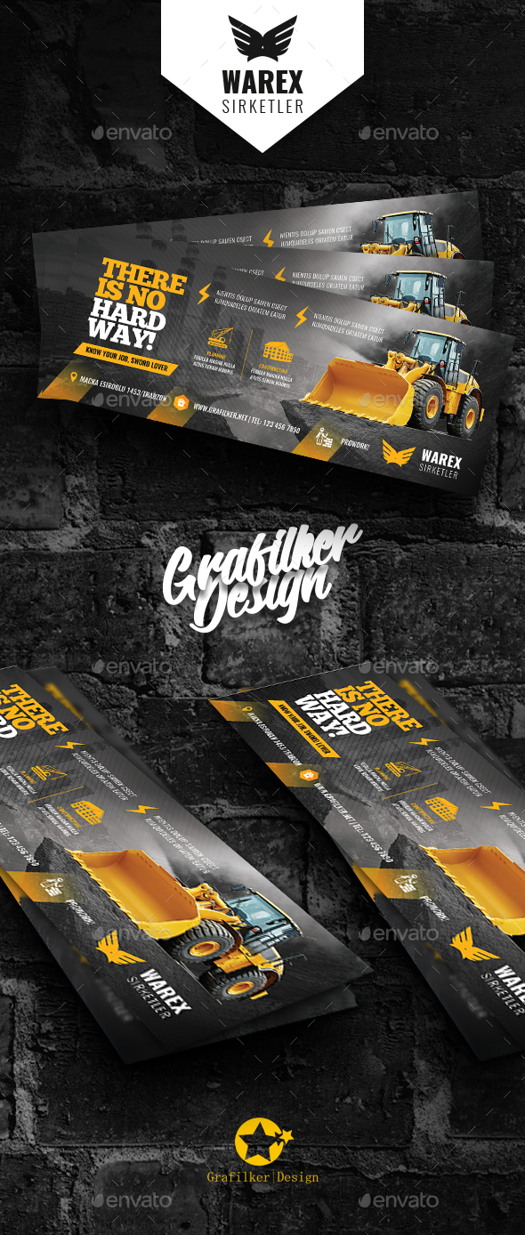 Construction Cover Templates - Facebook Timeline Covers Social Media