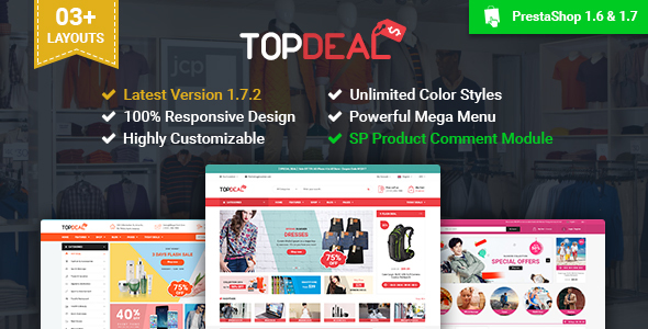 TopDeal - Multipurpose Responsive PrestaShop Theme