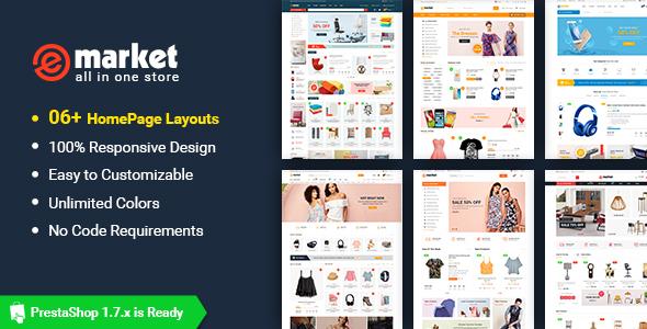 eMarket - Premium Responsive PrestaShop Theme - PrestaShop eCommerce