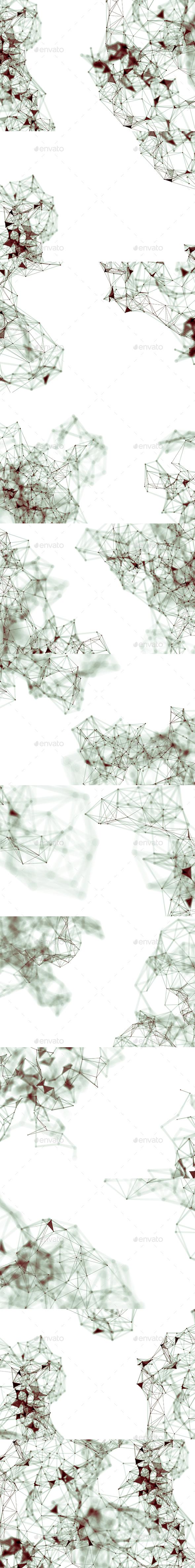 Plexus Backgrounds Vol20 - Abstract Backgrounds