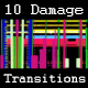 10 Shape Damage Transitions - VideoHive Item for Sale