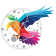 Bird Technology Logo - GraphicRiver Item for Sale