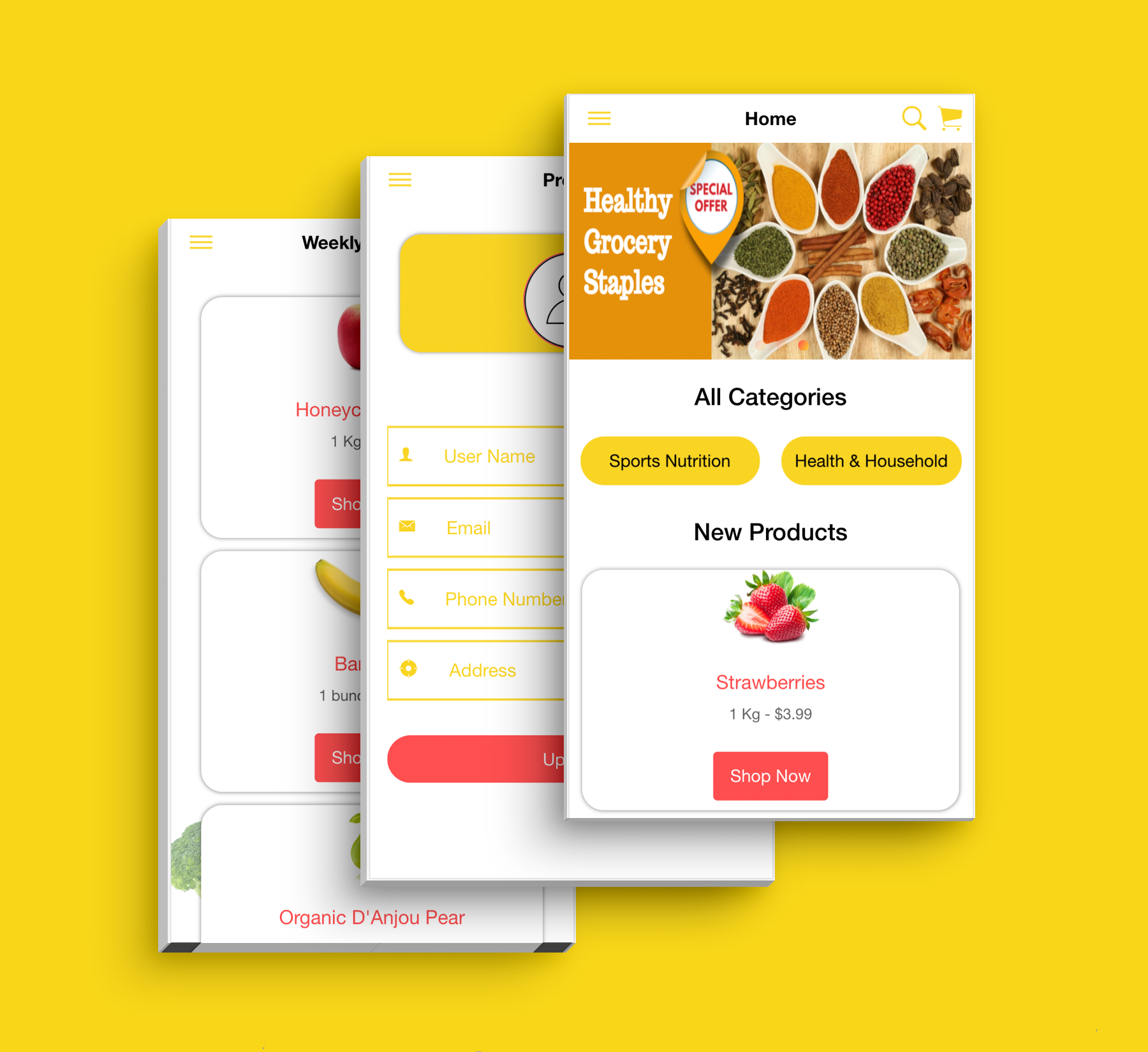 Complete Multipurpose eCommerce Template UI Grocery App Supports Multiple Language i18n - 10