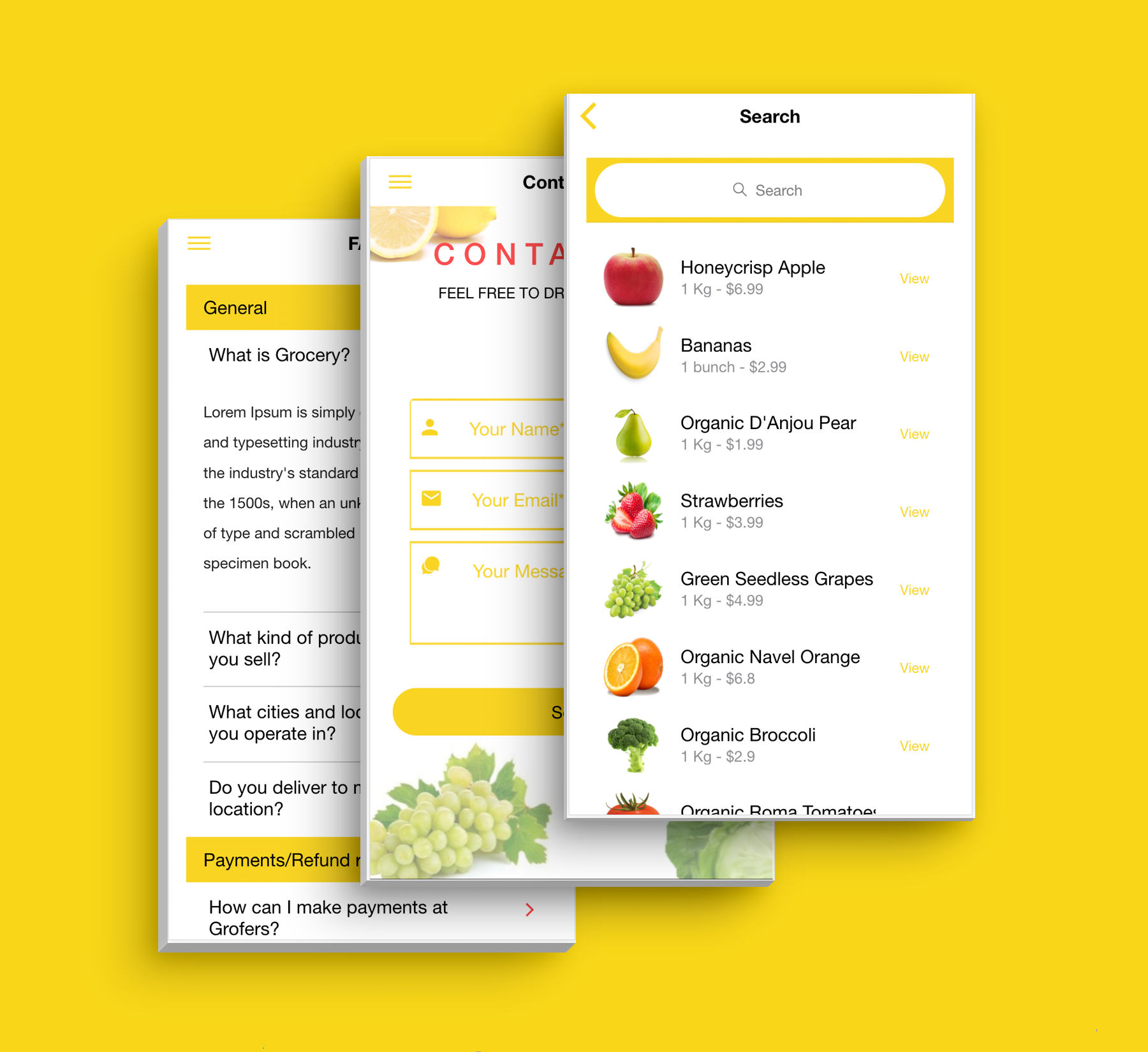Complete Multipurpose eCommerce Template UI Grocery App Supports Multiple Language i18n - 11
