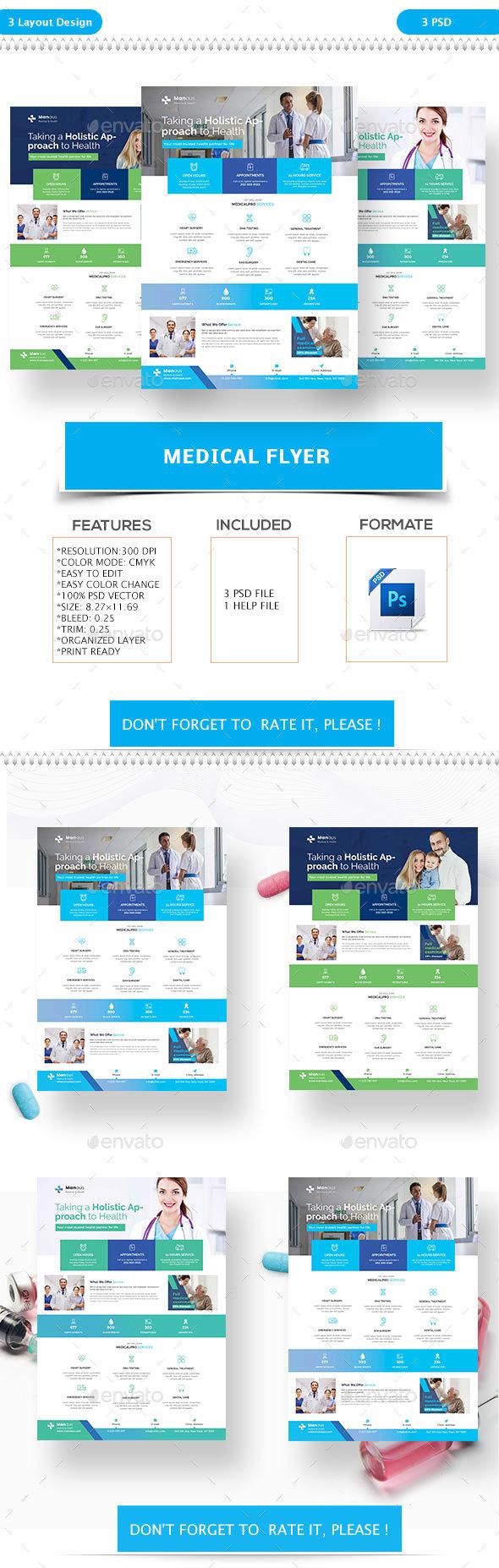 Medical Flyer - Flyers Print Templates