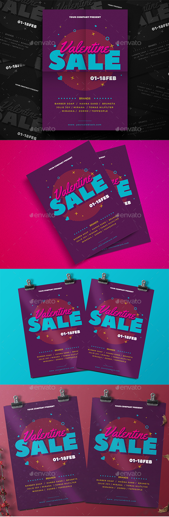 Valentine Sale Flyer - Events Flyers