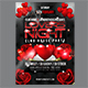 Love Night Flyer Template - GraphicRiver Item for Sale