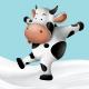 Cute Cow Illustration