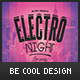 Electro Flyer/Poster - GraphicRiver Item for Sale