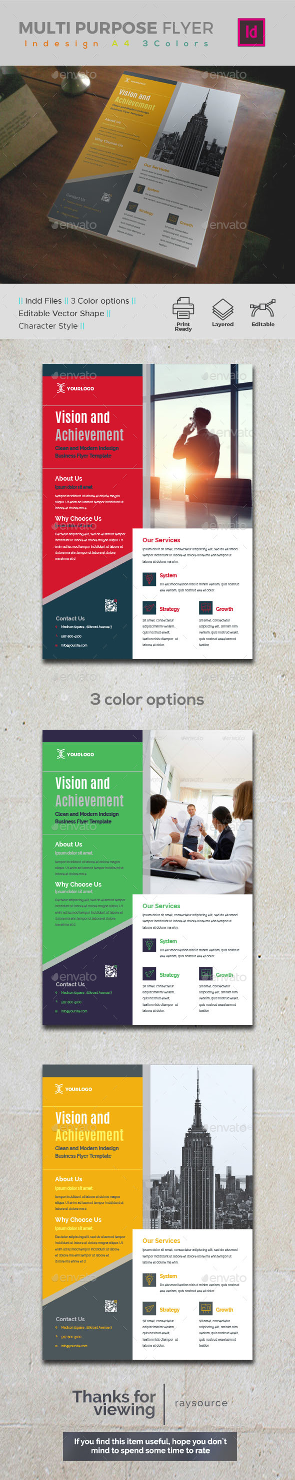 Corporate Indesign Flyer - Corporate Flyers