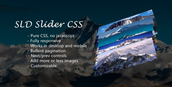 SLD Sliders Responsive CSS - CodeCanyon Item for Sale