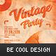 Vintage Flyer/Poster - GraphicRiver Item for Sale