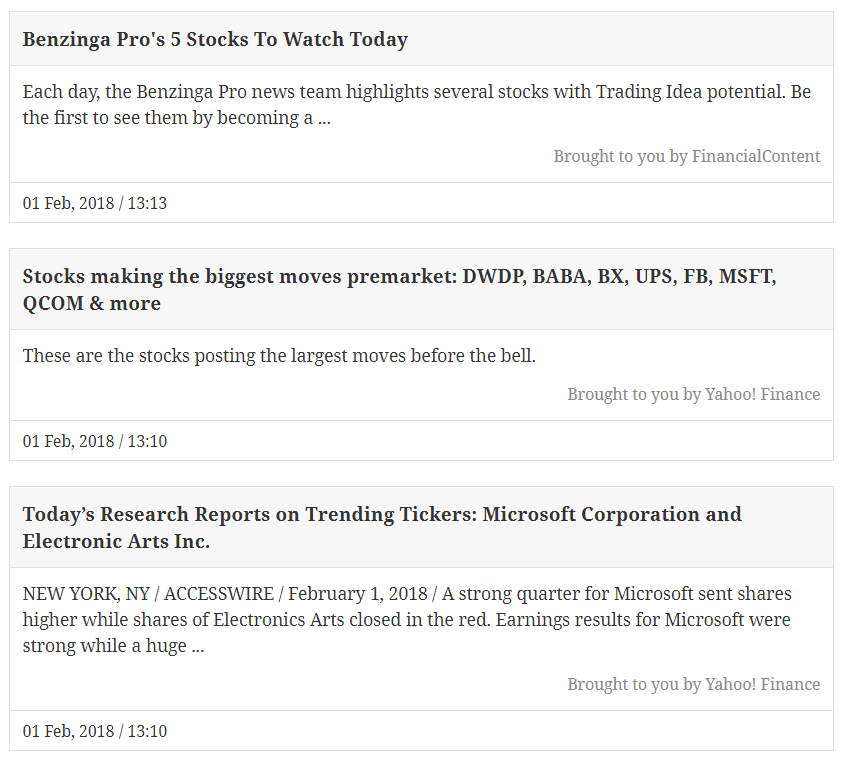 Finance News: Stock Market & Financial News Headlines