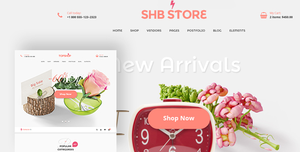 Image of SHB ( Spa, Health & Beauty) - RTL Responsive WooCommerce WordPress Theme