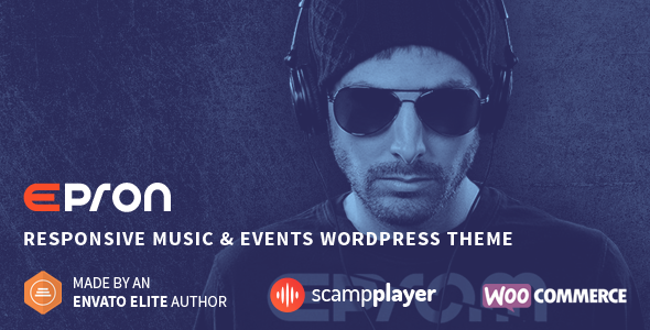 Epron - Responsive Music & Events WordPress Theme
