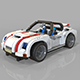 lego sport car - 3DOcean Item for Sale