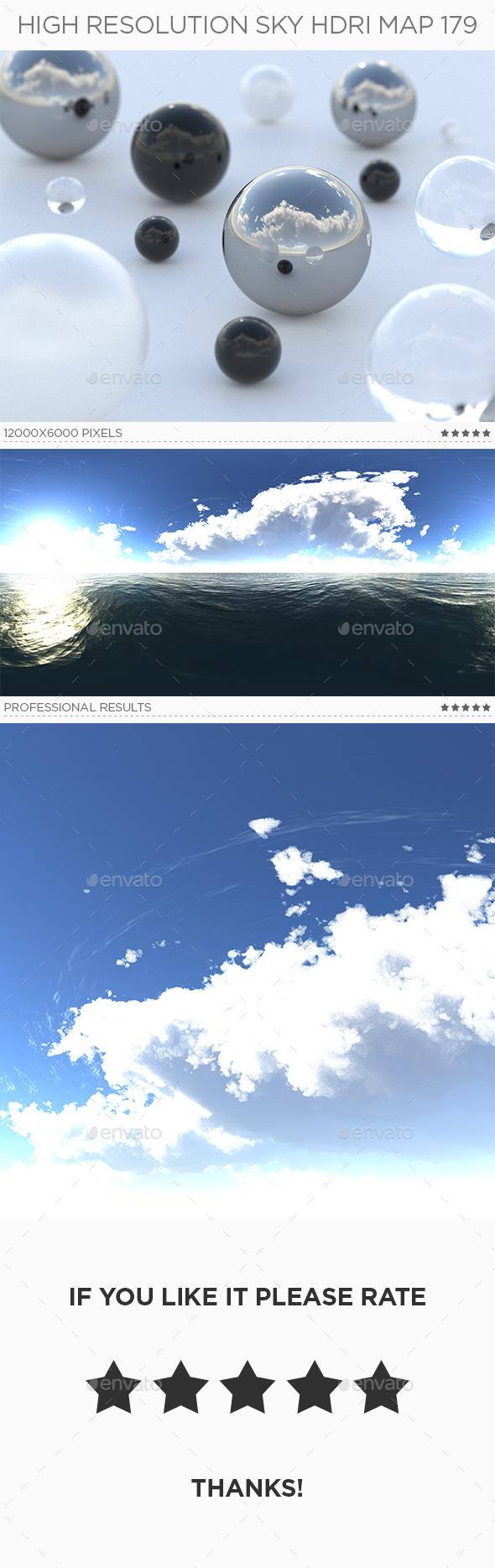High Resolution Sky HDRi Map 179 - 3DOcean Item for Sale