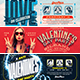 Valentine's Day Facebook Cover Bundle - GraphicRiver Item for Sale