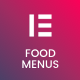 Restaurant Food Menus for Elementor Page Builder