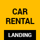 Car Rental Landing HTML Template