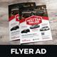 Automotive Car Sale Rental Flyer Ad v6 - GraphicRiver Item for Sale