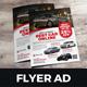 Automotive Car Sale Rental Flyer Ad v7 - GraphicRiver Item for Sale