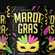 Mardi Gras Flyer Vol.4 - GraphicRiver Item for Sale