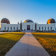 Landscape view of Griffith observatory in Los Angeles at sunrise - PhotoDune Item for Sale