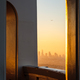 Architectural detail and Los Angeles skyline viewed from Griffith observatory - PhotoDune Item for Sale