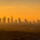 Panoramic view of Los Angeles skyline at sunrise - PhotoDune Item for Sale