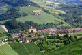 Barolo medieval town in Piedmont aerial view, northern Italy - PhotoDune Item for Sale