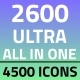 2600 Ultra All in One Infographics - GraphicRiver Item for Sale