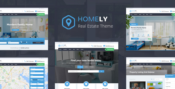 Homely - Real Estate WordPress Theme