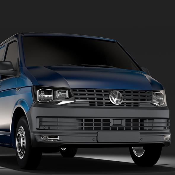 Volkswagen Transporter Van L1H1 T6 2017 - 3DOcean Item for Sale