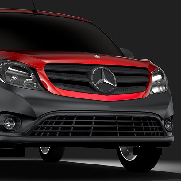 Mercedes Benz Citan Van L1 2017 - 3DOcean Item for Sale
