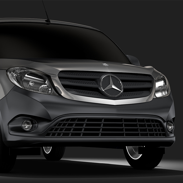 Mercedes Benz Citan Van L2 2017 - 3DOcean Item for Sale