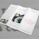 Trifold Brochure Menu