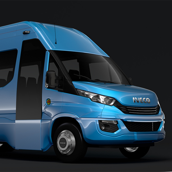 Iveco Daily Tourus L5H3 2017 - 3DOcean Item for Sale