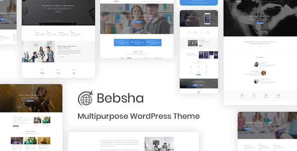 Bebsha - Multipurpose WordPress Theme - Creative WordPress