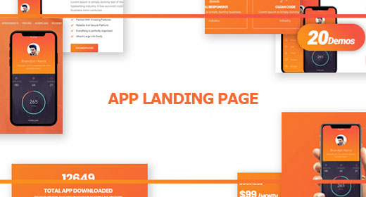 App Landing Page Templates