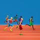 Colorful Runners - VideoHive Item for Sale
