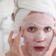 Girl Applying Mask on Her Face Looking in Mirror - VideoHive Item for Sale