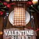 Valentine's Dinner Flyer - GraphicRiver Item for Sale