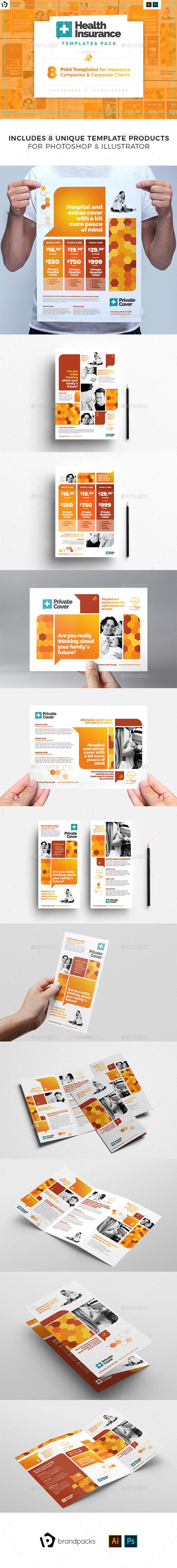 Corporate Print Templates Bundle - Corporate Flyers