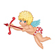 Cupid with Arrow - GraphicRiver Item for Sale