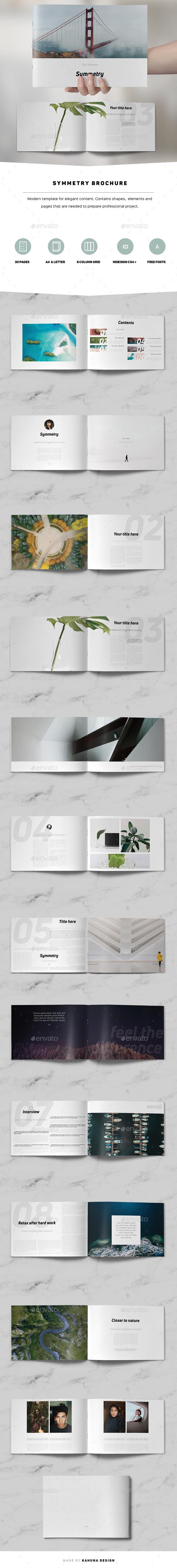 Symmetry Minimal Brochure - Corporate Brochures