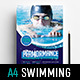 Swimming Centre Poster Template - GraphicRiver Item for Sale