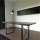 Wooden Slab Dinner Table