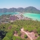 Flying over Phi-Phi Don Island in Thailand - VideoHive Item for Sale